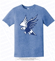About to Attack Eagles Moisture-Wicking Tee