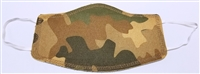 Two Ply Cotton Camouflage Face Covering