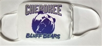 Cherokee Bluff Three Ply Poly Face Mask