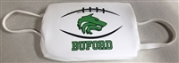 Buford Football Three Ply Polyester Face Mask