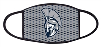 West Hall Spartans Logo Three Ply Mask