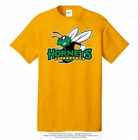 Riverbend Hornets Logo Cotton Tee
