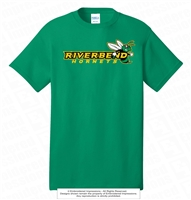 Horizontal Riverbend Hornets Logo Cotton Tee