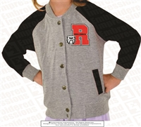 R Bulldogs Varsity Jacket