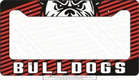 Bulldogs License Plate Cover