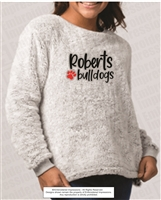Roberts Bulldogs Sherpa Pullover in Frosty Grey