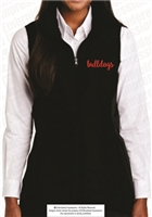 Bulldogs Ladies Puffy Stretch Vest