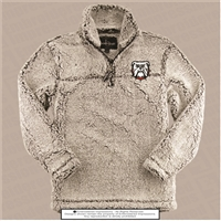 RES Bulldogs Grey Sherpa Pullover