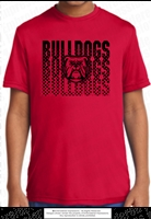 Bulldogs Dr-Fit Polyester Tee