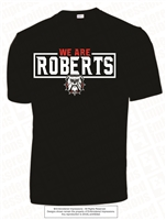 We Are Roberts Dri-Fit Tee in Black