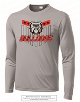 Stars Bulldogs Dri-Fit Long Sleeves in Silver