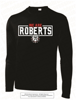 We Are Roberts Dri-Fit Long Sleeves in Black