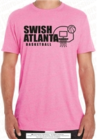 Swish Atlanta Basketball Tee