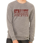 Stallion Athlete Sponge Fleece Crewneck Sweatshirt