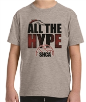 All The Hype Volleyball Tee