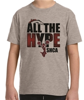 SHCA All The Hype Cheer Glitter Tee