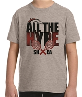 SHCA All The Hype Tennis Tee
