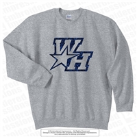 Shimmery West Hall Star Sweatshirt