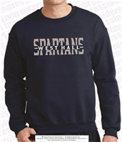 Split Spartans Sweatshirt