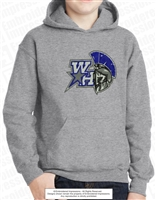 West Hall Spartans Logo Hoodie