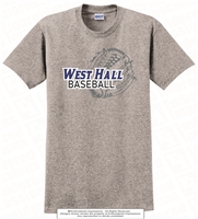 West Hall Baseball Cotton Tee
