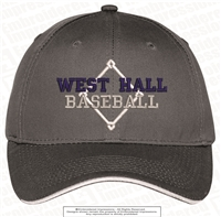 WH Baseball Sandwich Bill Cap