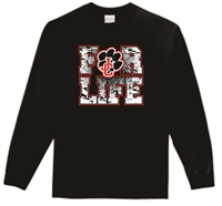 JC For Life Long Sleeve Tee Shirt