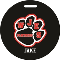 WJES Custom Bag Tag