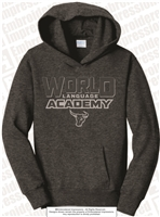 WLA Puff Embroidered Hooded Sweatshirt