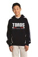 WLA Toros Colorblock Hooded Sweatshirt