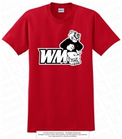WM Cougars Primary Logo Cotton Tee