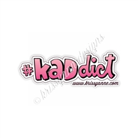 KADdict Decal - 3 Inch