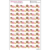 Donut Diecut Strips - Set of 33