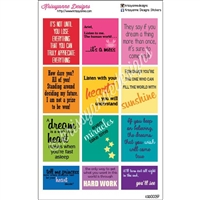 Princess Quote Stickers - Set 1