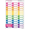 Color Coordinating Event Stickers - Set of 36