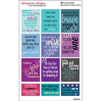 Princess Quote Stickers - Set 2