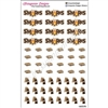 S'mores Sticker Set - Set of 60 Stickers