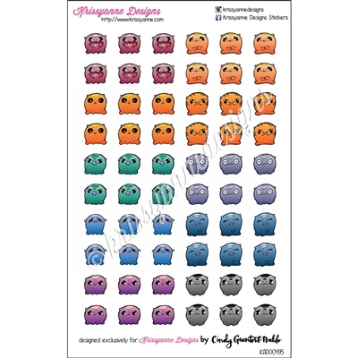 Adorable Monster Sampler Set 4 - Set of 60