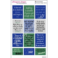 Movie Quote Stickers