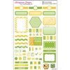 KAD Weekly Planner Set - Green and Yellow