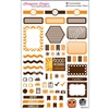 KAD Weekly Planner Set - Brown and Orange