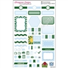 KAD Weekly Planner Set - Green and Blue