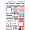 KAD Weekly Planner Set - Teal and Coral