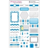 KAD Weekly Planner Set - Blue and Silver