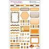 KAD Weekly Planner Set - Orange and Brown
