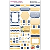 KAD Weekly Planner Set - Navy and Gold
