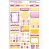 KAD Weekly Planner Set - Hot Pink and Gold