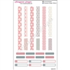 KAD Decoration Set - Gray and Pink Decoration Strips