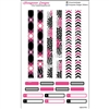 KAD Decoration Set - Hot Pink and Black Decoration Strips