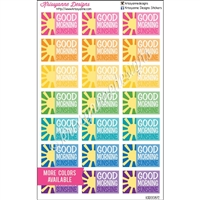 Good Morning Sunshine Half Boxes - Bold Rainbow - Set of 21